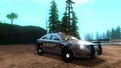 Ford Interceptor Los Santos County Sheriff para GTA San Andreas