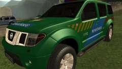 Nissan Pathfinder Police para GTA San Andreas