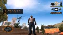 C-HUD TV-Centro para GTA San Andreas