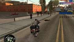 El nuevo C-HUD Ghetto para GTA San Andreas