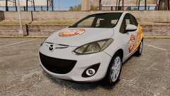 Mazda 2 Pizza Delivery 2011 para GTA 4