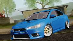 Mitsubishi Lancer Evo X GangLow para GTA San Andreas