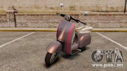 GTA V Pegassi Faggio para GTA 4