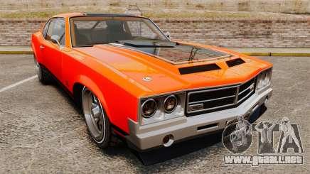 Declasse SabreGT new wheels para GTA 4