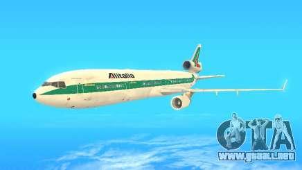 McDonnell Douglas MD-11 Alitalia para GTA San Andreas