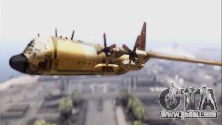 C-130 Hercules Royal Moroccan Air Force para GTA San Andreas