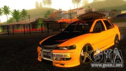Opel Vectra B TUNING para GTA San Andreas