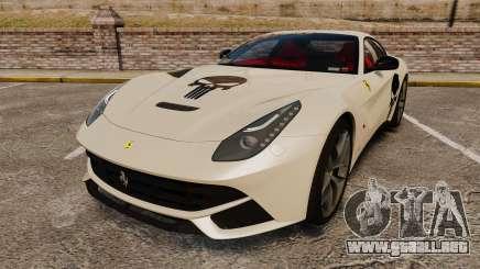 Ferrari F12 Berlinetta 2013 [EPM] Deaths-head para GTA 4