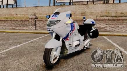 BMW R1150RT Police nationale [ELS] para GTA 4