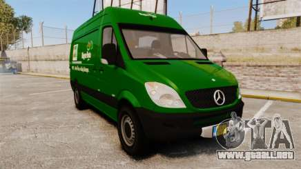 Mercedes-Benz Sprinter 2500 2011 Hungarian Post para GTA 4