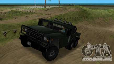 Patriot 6x6 para GTA Vice City