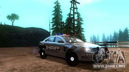 Ford Interceptor Los Santos County Sheriff para GTA San Andreas
