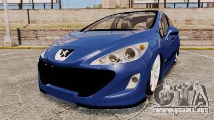 Peugeot 308 GTI para GTA 4