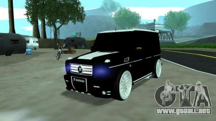 Mercedes G65 new tuninG para GTA San Andreas