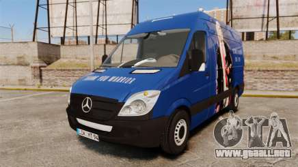 Mercedes-Benz Sprinter 2011 WWE Ultimate Warrior para GTA 4