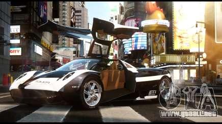 Pagani Huayra Police v1.1 para GTA 4