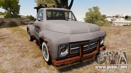 GTA IV TLAD Vapid Tow Truck para GTA 4