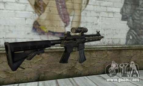 HK416 para GTA San Andreas segunda pantalla