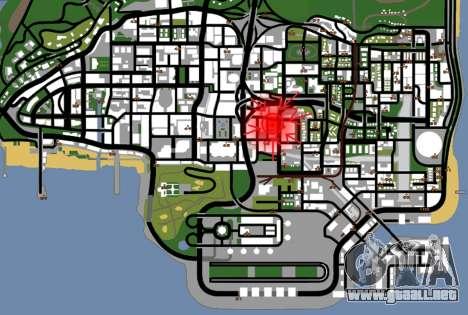 Textura Artium para GTA San Andreas quinta pantalla