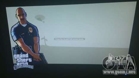 GTA 5 GTA San Andreas Loading Screen segunda captura de pantalla