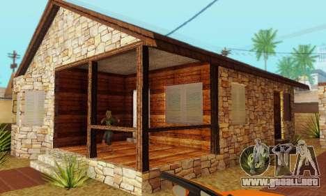 Nueva casa grande de Humo para GTA San Andreas sucesivamente de pantalla