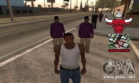C-HUD Chicago Bulls para GTA San Andreas