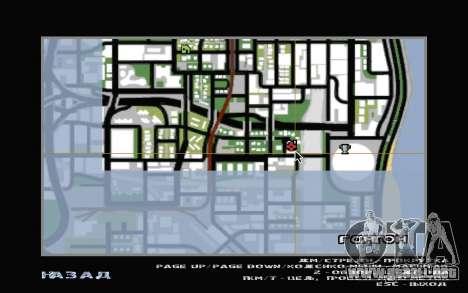 El sótano de la casa de Carl para GTA San Andreas novena de pantalla