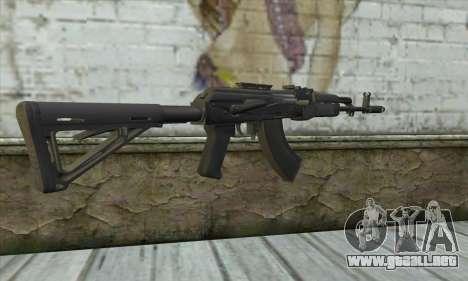 AKM - 47 para GTA San Andreas segunda pantalla