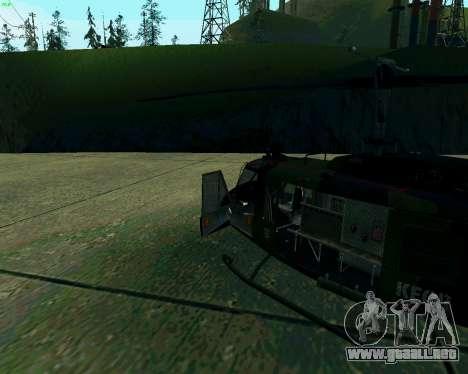 UH-1D Huey para GTA San Andreas left