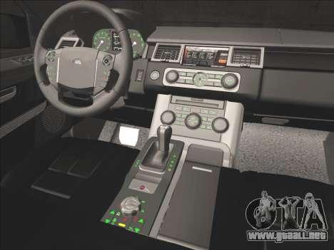 Range Rover Sport para vista inferior GTA San Andreas