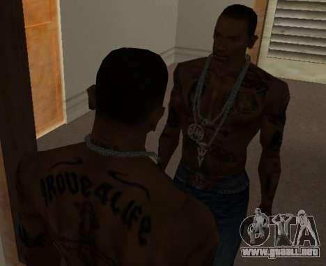 Una nueva cadena de CJ para GTA San Andreas tercera pantalla