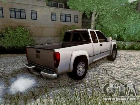 Chevrolet Colorado para visión interna GTA San Andreas