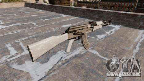 El AK-47 Camo ACU para GTA 4 segundos de pantalla