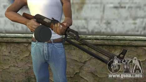RPK Machine Gun para GTA San Andreas tercera pantalla