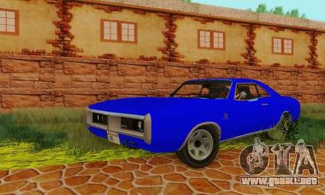 GTA 4 Imponte Dukes V1.0 para GTA San Andreas vista hacia atrás