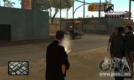 C-HUD by Miller para GTA San Andreas tercera pantalla