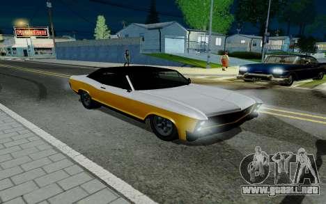 Albany Bucanero из GTA 5 para GTA San Andreas