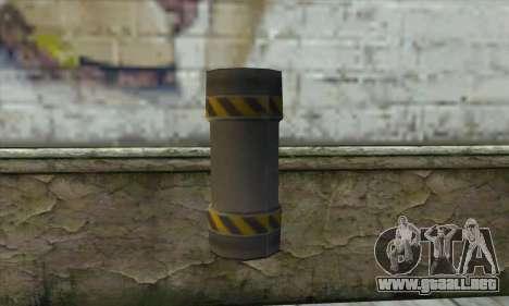 Granate de Ser Nukem para GTA San Andreas