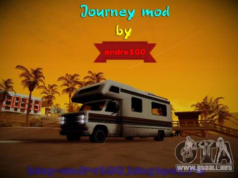 Journey mod by andre500 para GTA San Andreas