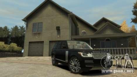 Range Rover Vogue 2014 para GTA 4