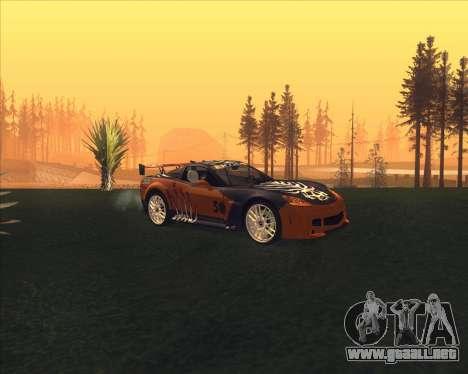 Chevrolet Corvette C6 из NFS MW para GTA San Andreas