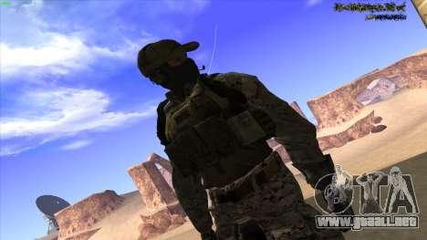 U.S. Navy Seal para GTA San Andreas décimo de pantalla