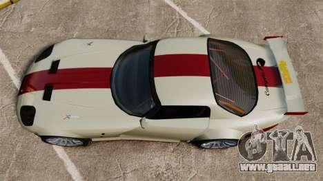 Bravado Banshee GT3 para GTA 4 visión correcta