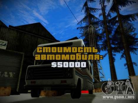 Journey mod: Special Edition para GTA San Andreas tercera pantalla