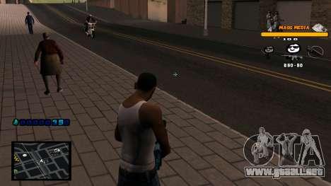 C-HUD Mass Media para GTA San Andreas tercera pantalla