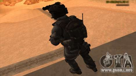 Sgt Keegan P.Russ из De Call of Duty: Ghosts para GTA San Andreas séptima pantalla
