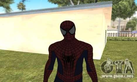 El nuevo spider-man para GTA San Andreas