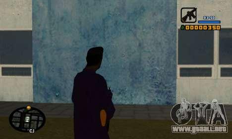 С-HUD por Cher para GTA San Andreas segunda pantalla