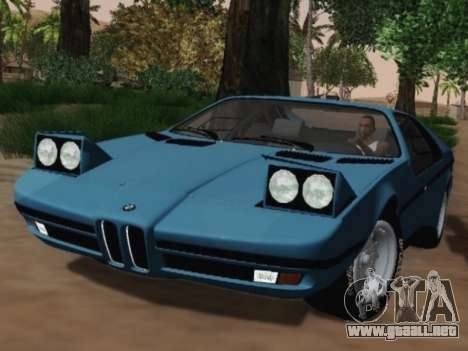 BMW M1 Turbo 1972 para GTA San Andreas