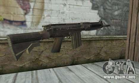 SC-2010 из COD: Fantasmas para GTA San Andreas segunda pantalla